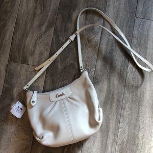 NWT Coach leather cross body purse